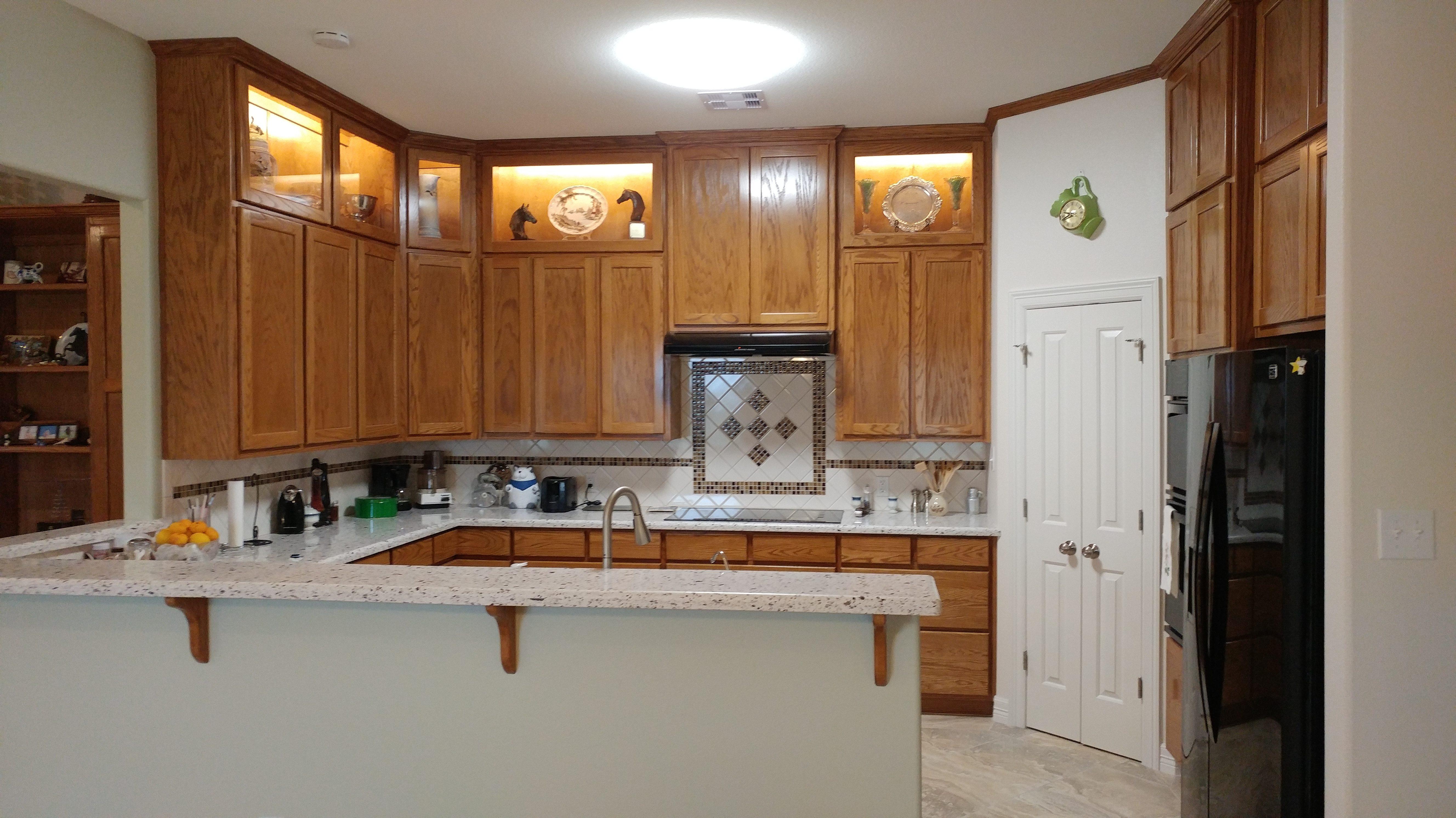 Barndominium custom cabinets