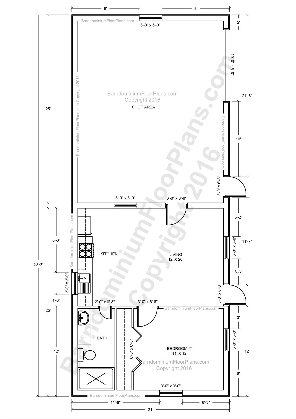 Barndominium Floor Plans Pole Barn House Plans and Metal Barn Homes